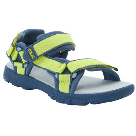 Jack Wolfskin Seven Seas 3 Sandals Kids, lime/blue